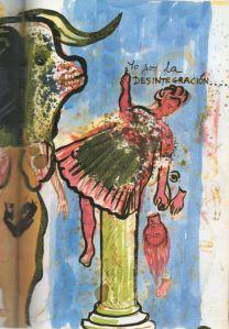 Yo soy la DESINTEGRACIÓN (Frida Kahlo)