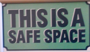 This is safe space